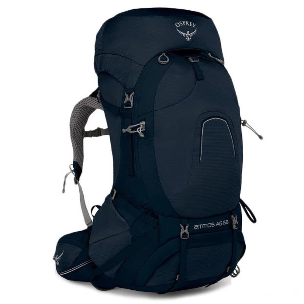 last chance osprey atmos ag 65 hiking backpack – l  unity blue best price limited sale