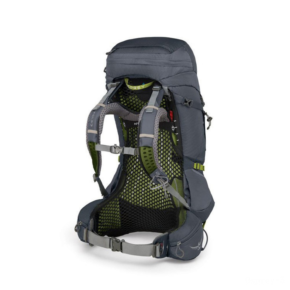 best price osprey atmos ag 50  abyss grey last chance limited sale