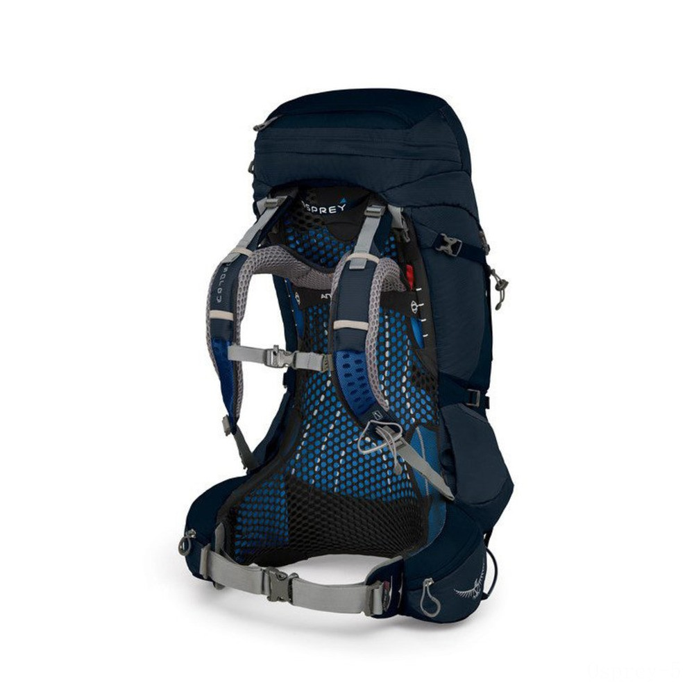 limited sale osprey atmos ag 50l - medium  unity blue last chance best price