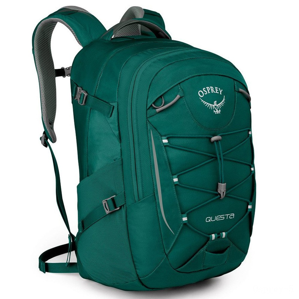 best price osprey questa daypack  tropical green limited sale last chance