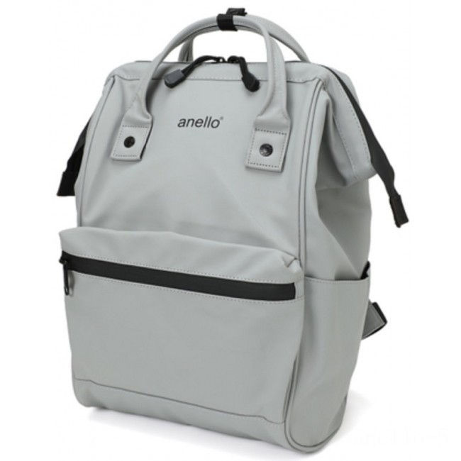 limited sale anello matte rubber rucksack in grey best price last chance