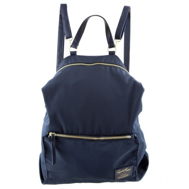 best price anello legato 2 way nylon backpack in navy limited sale last chance