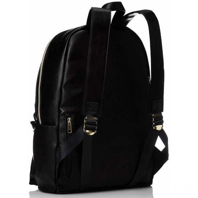 last chance anello legato faux leather backpack in black limited sale best price