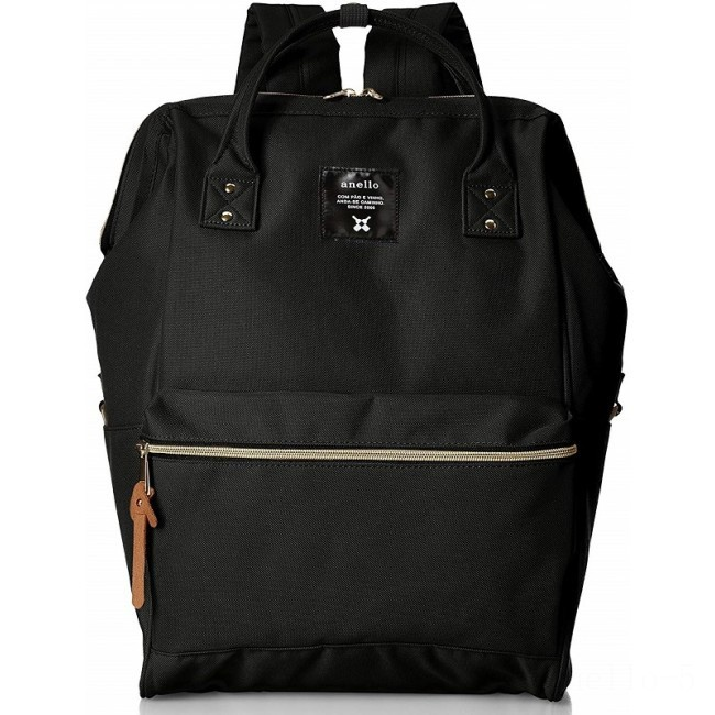 best price anello rucksack large in black last chance limited sale