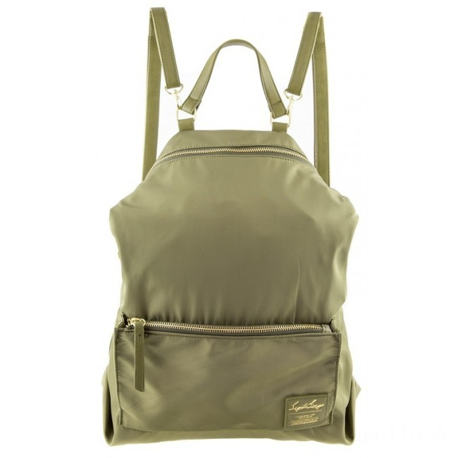 limited sale anello legato 2 way nylon backpack in khaki best price last chance