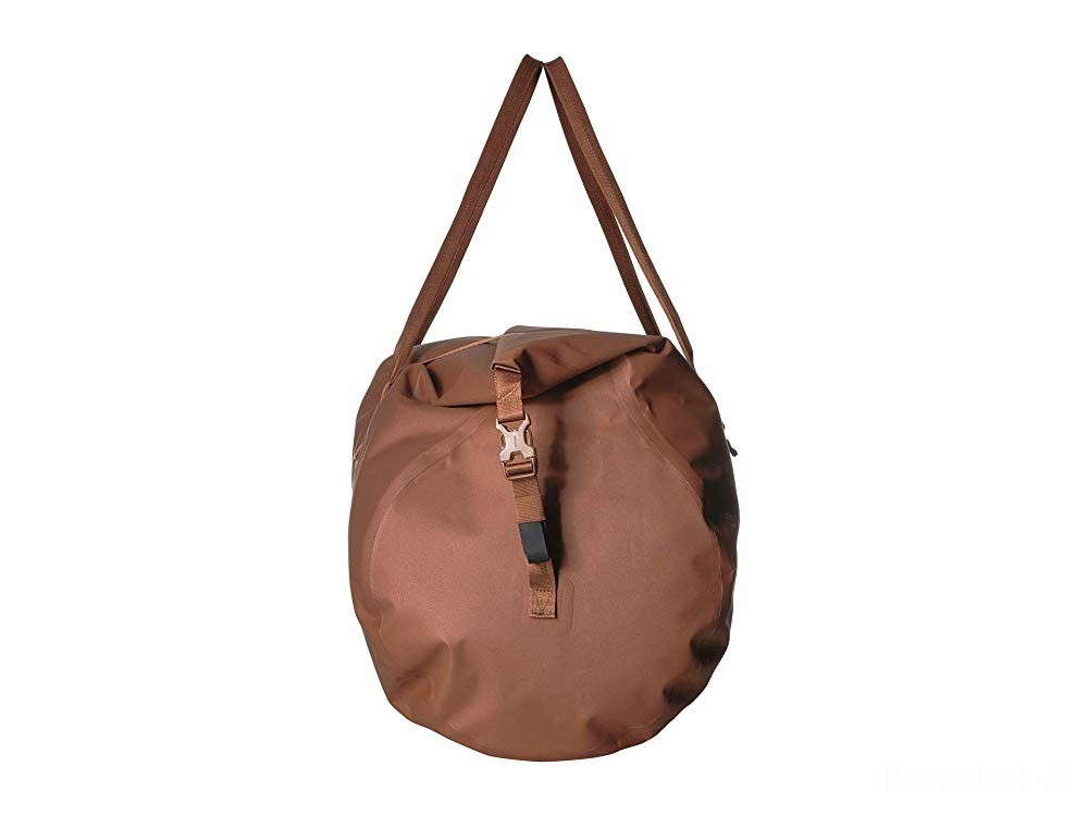 best price herschel supply co. coast duffle saddle brown last chance limited sale