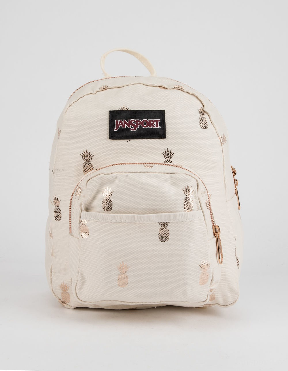 best price jansport half pint isabella pineapple mini backpack natural last chance limited sale