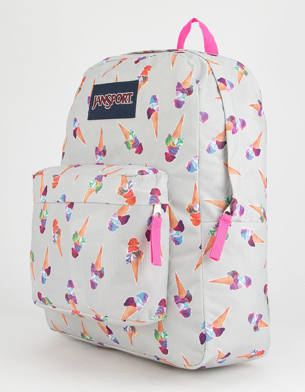 best price jansport superbreak cones and scoops backpack grey combo last chance limited sale