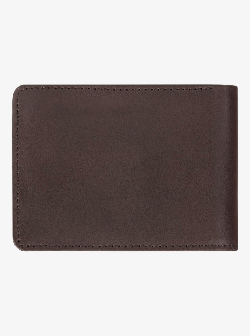 last chance mack bi-fold leather wallet - chocolate brown best price limited sale