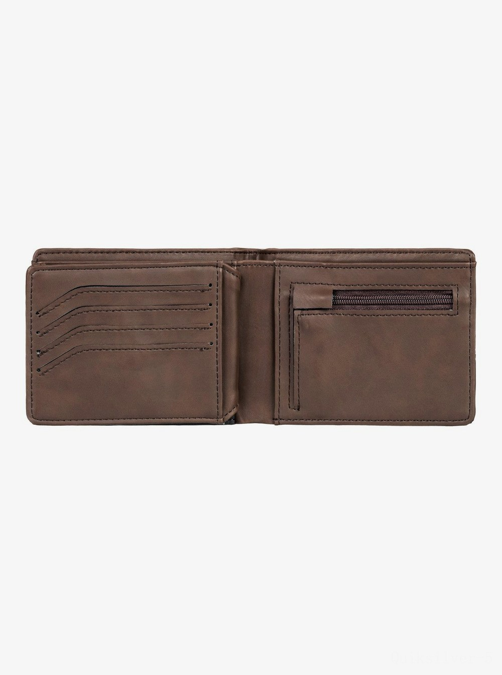 best price nativecountry bi-fold wallet - chocolate brown last chance limited sale