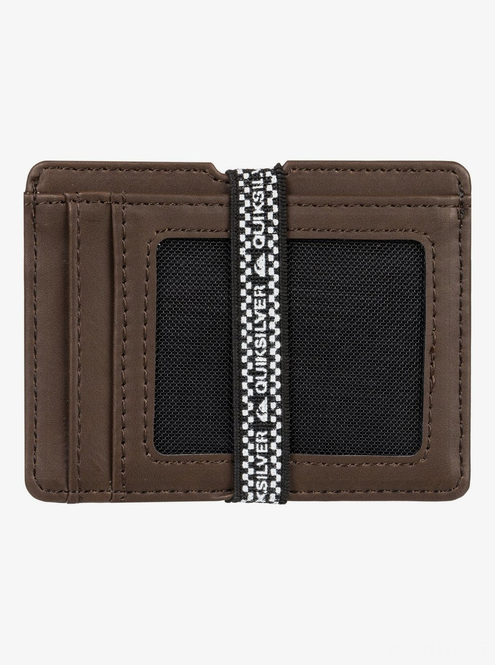 best price floker card holder - chocolate brown last chance limited sale