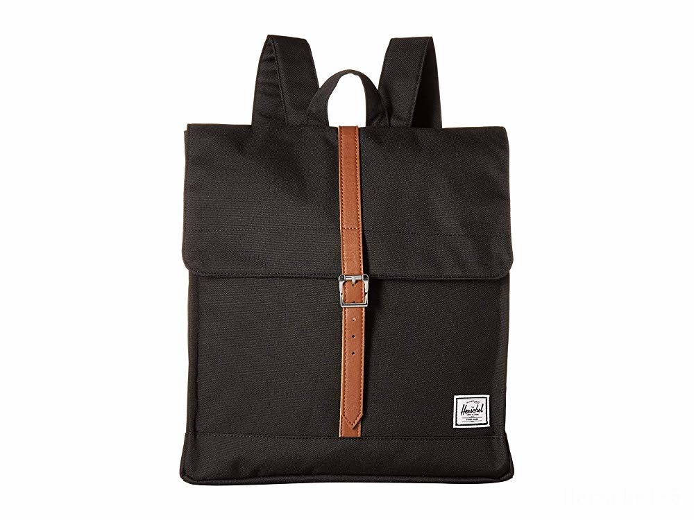 limited sale herschel supply co. city mid-volume black/tan synthetic leather last chance best price