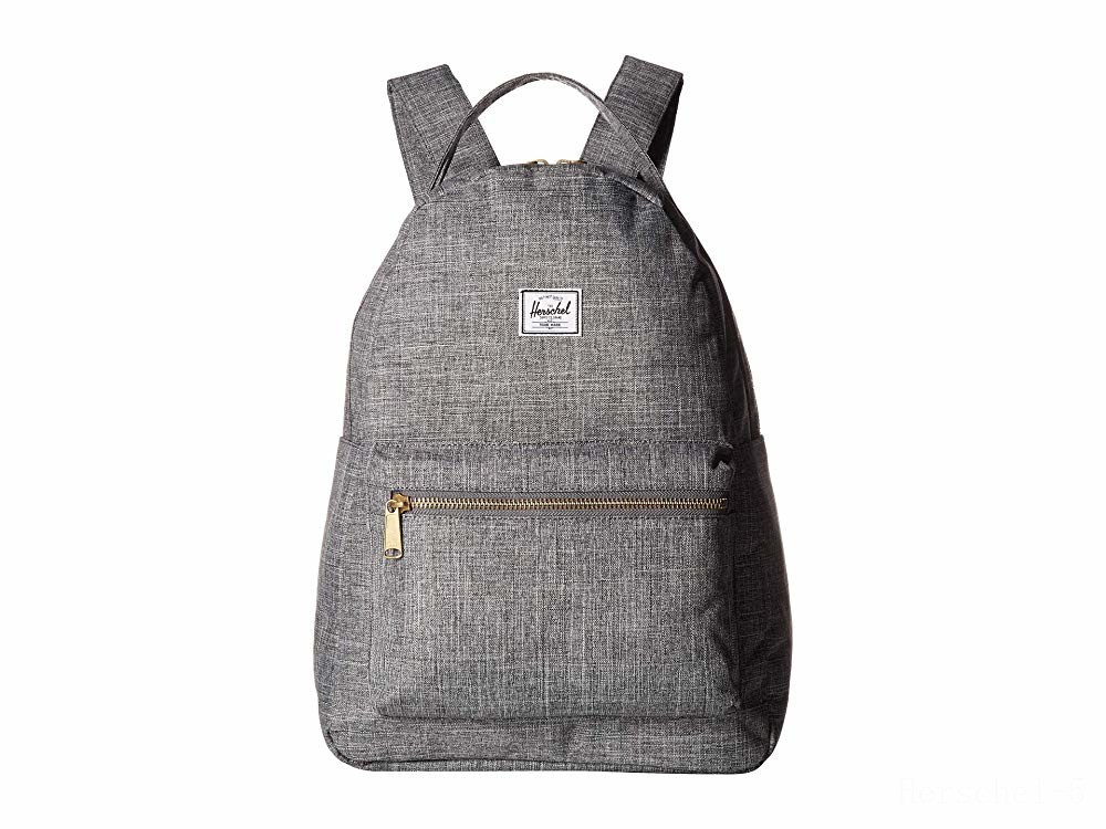 last chance herschel supply co. nova mid-volume raven crosshatch limited sale best price