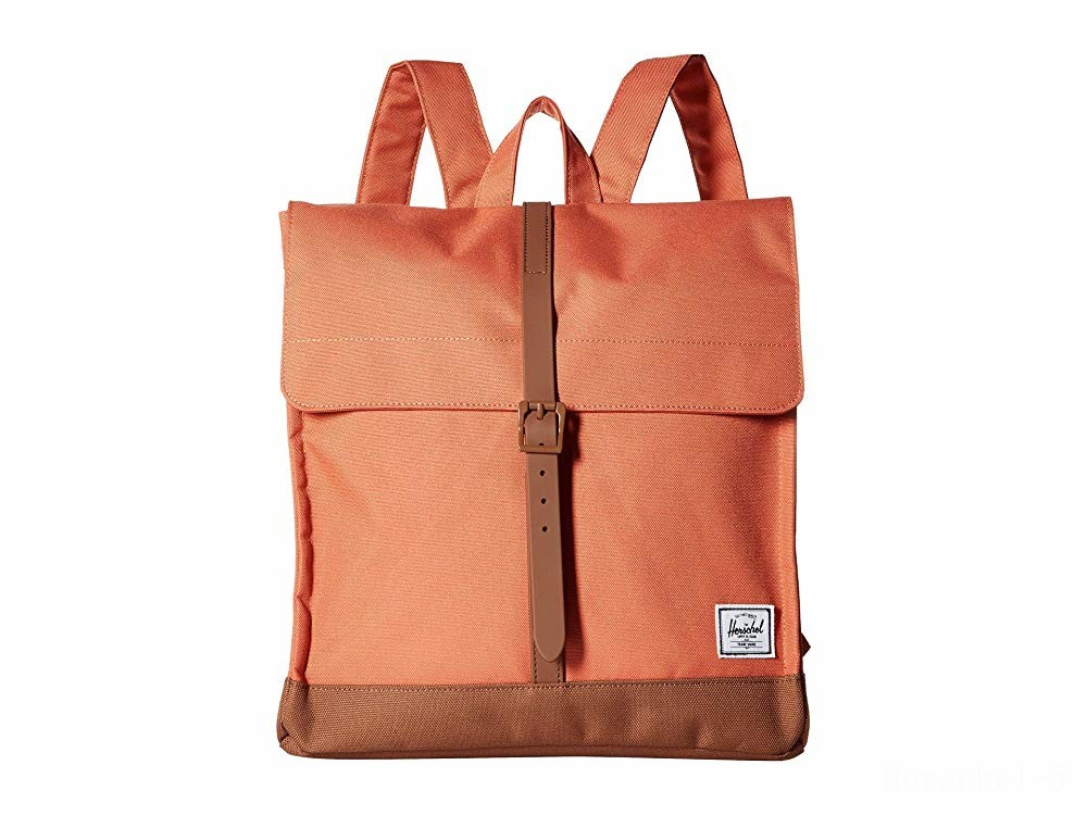 best price herschel supply co. city mid-volume apricot brandy/saddle brown limited sale last chance