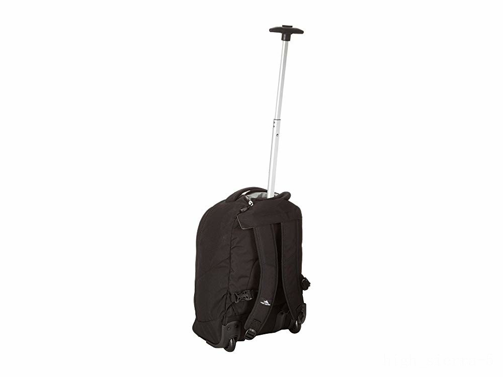 last chance high sierra chaser wheeled backpack black best price limited sale