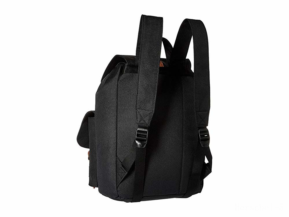 best price herschel supply co. dawson x-small black/tan synthetic leather last chance limited sale