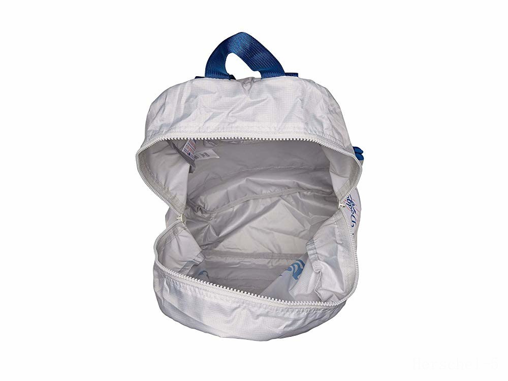 best price herschel supply co. packable daypack los angeles dodgers/grey last chance limited sale