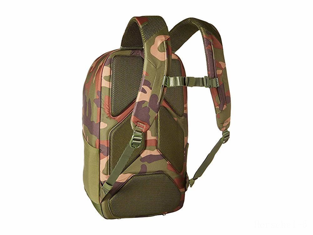 last chance herschel supply co. mammoth large woodland camo limited sale best price