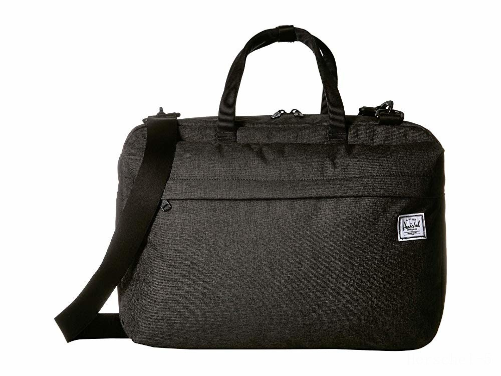 best price herschel supply co. sandford black crosshatch last chance limited sale