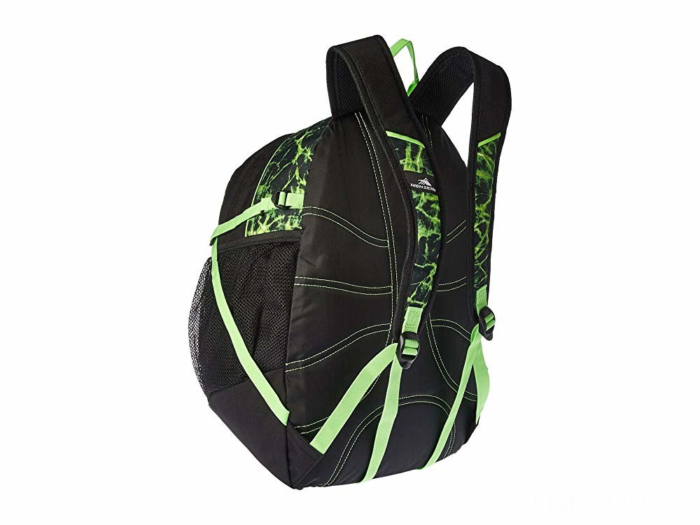 limited sale high sierra fat boy backpack lime fire/black/lime last chance best price