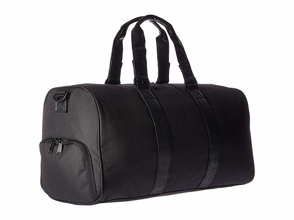 last chance herschel supply co. novel mid-volume black/black synthetic leather limited sale best price