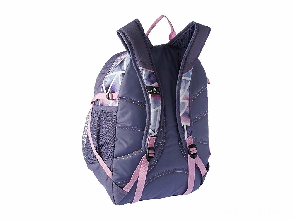 last chance high sierra fat boy backpack dreamscape/purple smoke/iced lilac limited sale best price