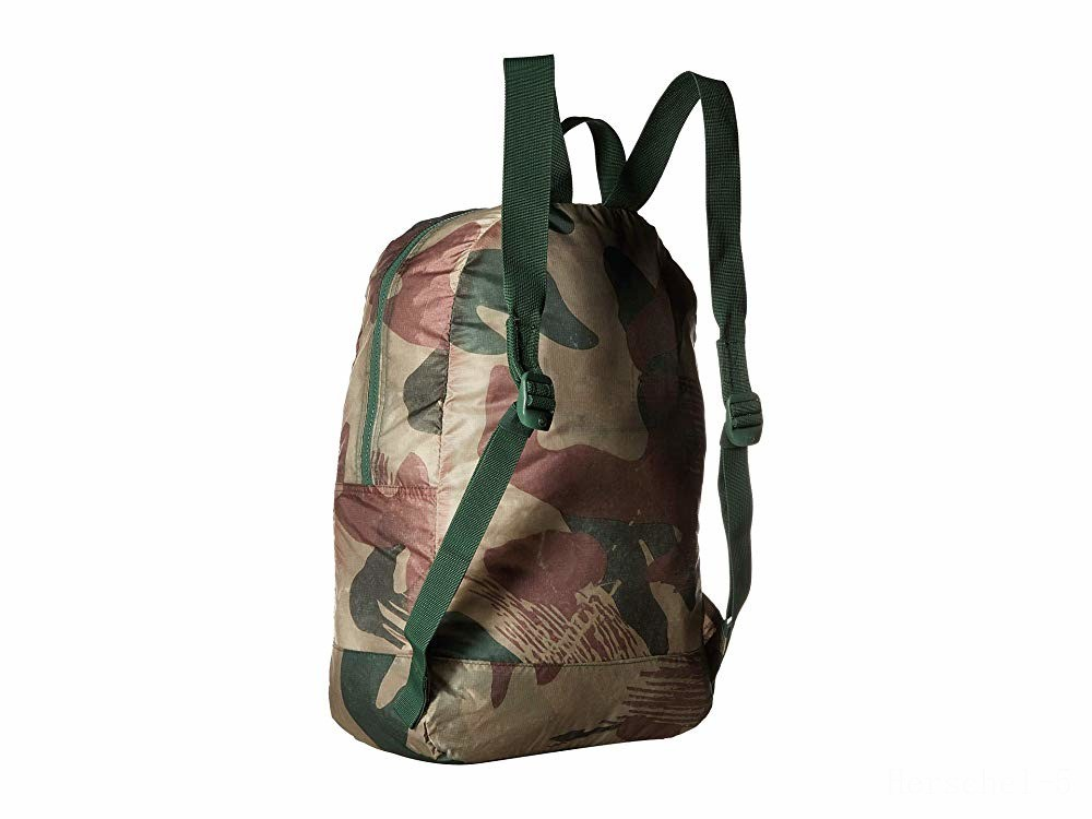 best price herschel supply co. packable daypack brushstroke camo last chance limited sale