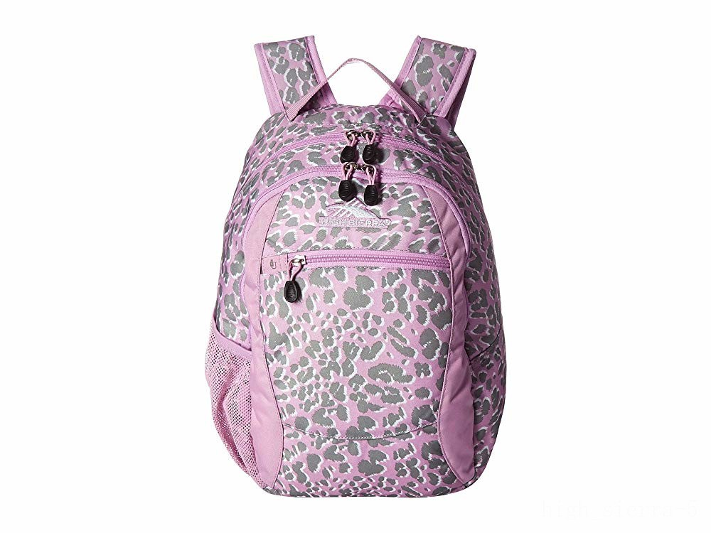 limited sale high sierra curve backpack shadow leopard/iced lilac best price last chance