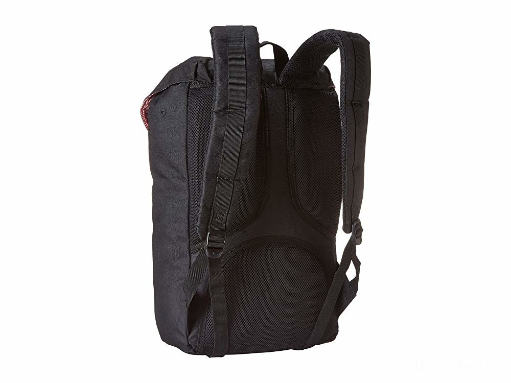best price herschel supply co. little america black/black limited sale last chance