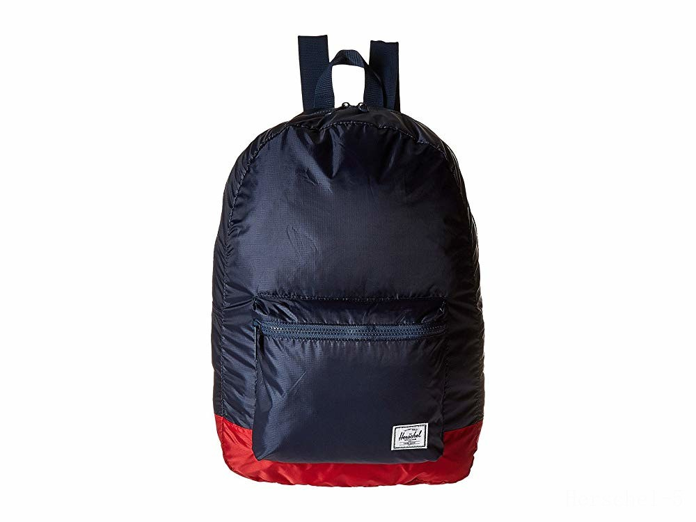 last chance herschel supply co. packable daypack navy/red 1 limited sale best price